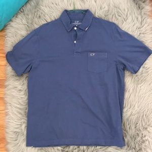 Vineyard Vines Basic Blue Polo. New condition.